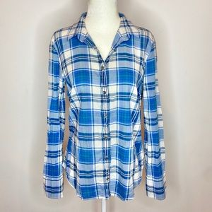 J. Crew | Casual Dress Button Down Shirt Size 4
